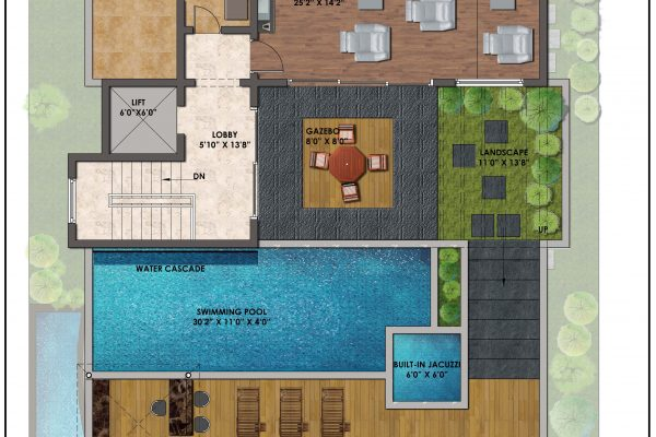 terrace-floor
