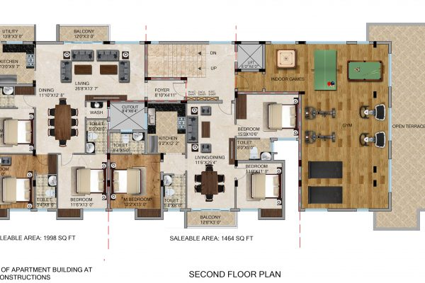 second floor plan copy